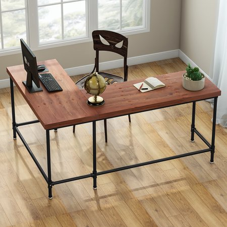 differently c7a65 65d47 Tribesigns L-Shaped Desk, 67