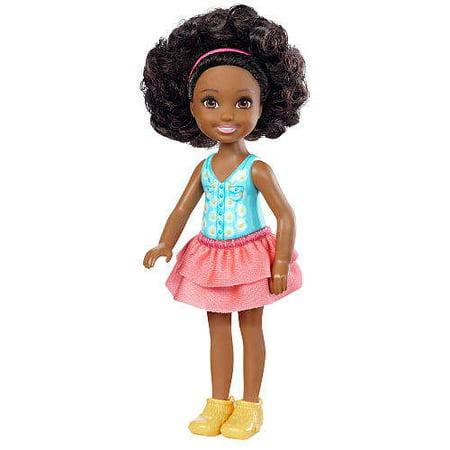 Barbie Club Chelsea Friend Flower-Themed Doll with Cardboard Bouquet