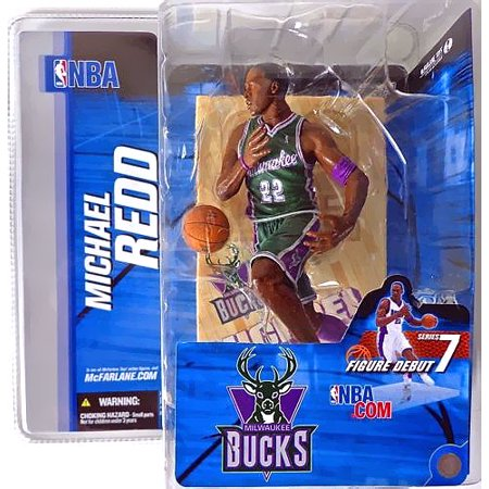 Mcfarlane Nba Sports Picks Series 7 Michael Redd Action Figure  Green Jersey Variant
