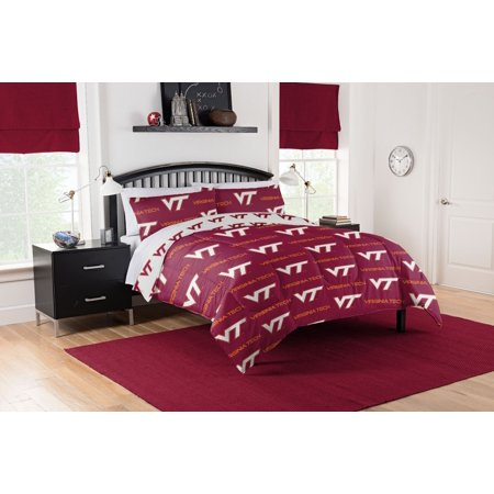 Virginia Tech Hokies Full Bed In Bag Set