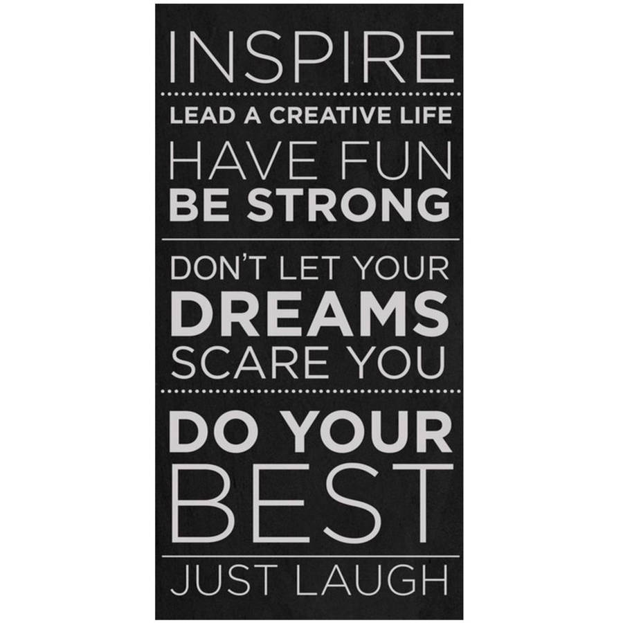 Inspire by Eazl Canvas Poster