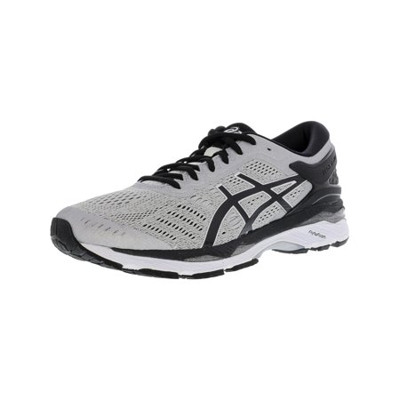 Asics Men's Gel-Kayano 24 Silver / Black Mid Grey Ankle-High Running Shoe - 9M Air Force 1 Mid Shoes