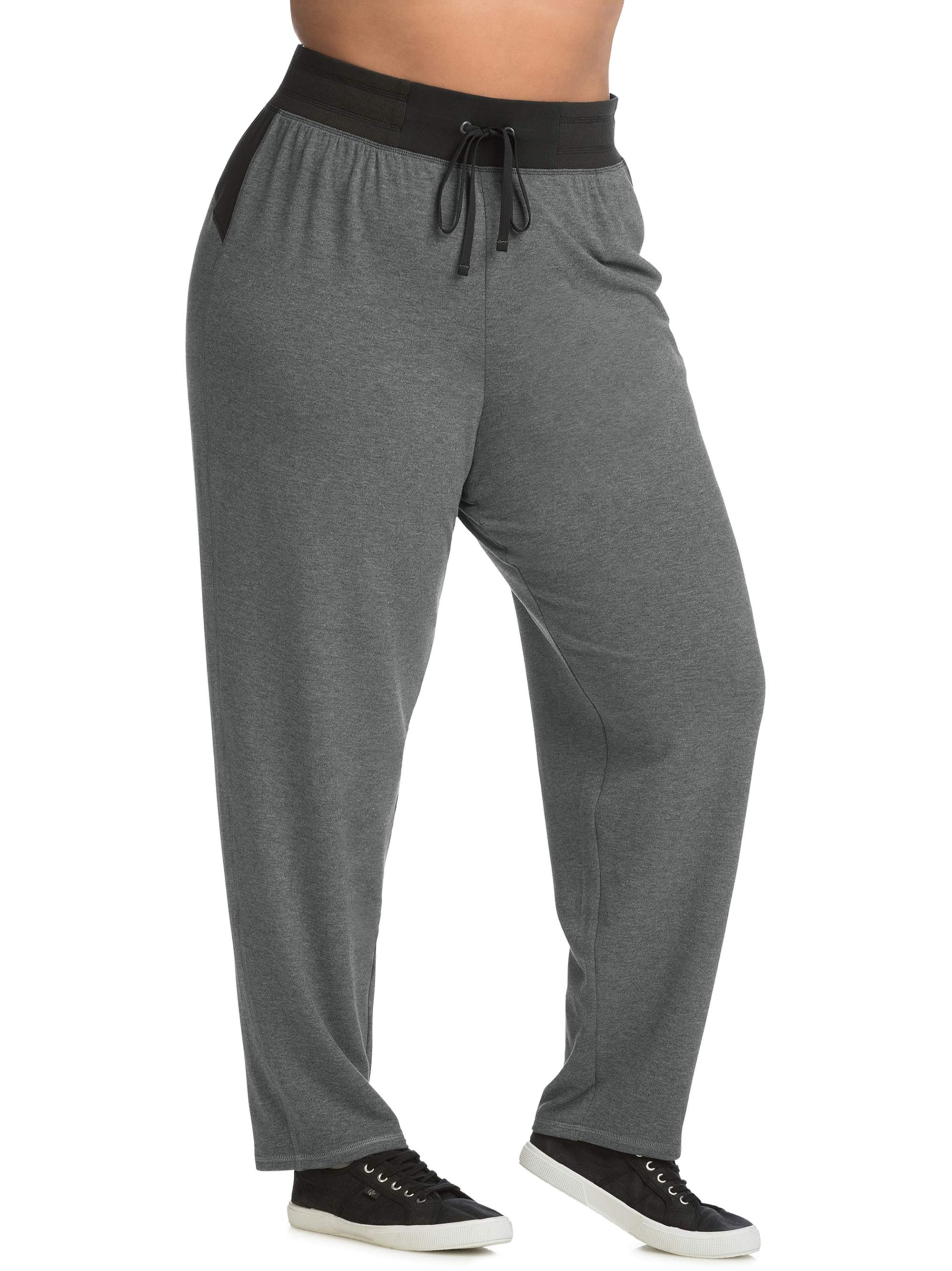 d441699144 Just My Size - Just My Size Active French Terry Contrast Performance Pants  - Walmart.com