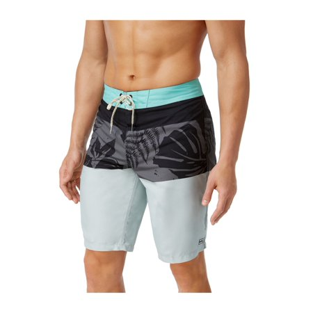 cfd8759cad Billabong - Billabong Mens Og Colorblocked Swim Bottom Trunks silver 36 -  Walmart.com