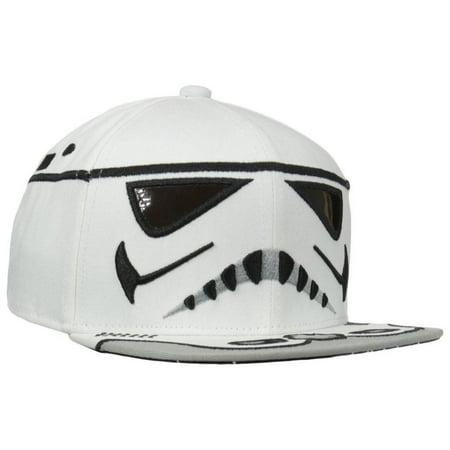 bf353a07205 Star Wars - Stormtrooper Head Snapback Cap - Walmart.com