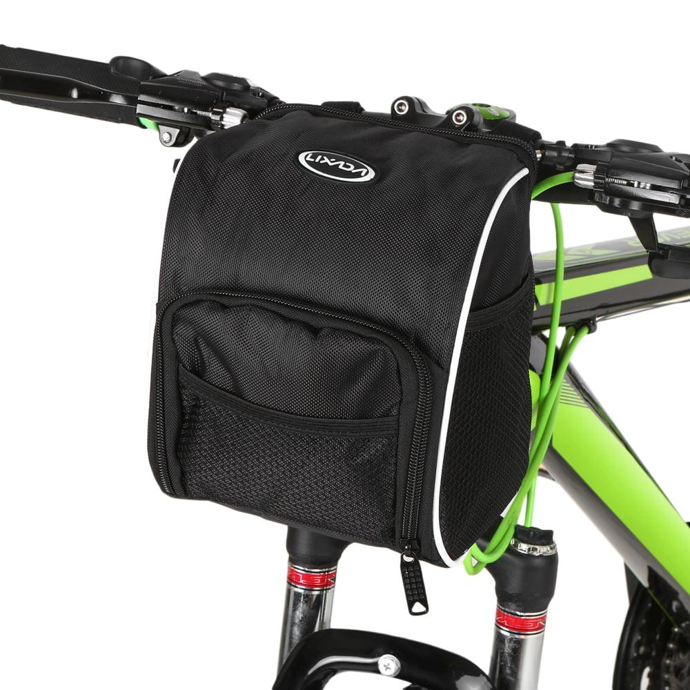 Lixada Bicycle Handlebar Bag Cycling Bike Front Bag Basket With Rain Cover Walmart Canada