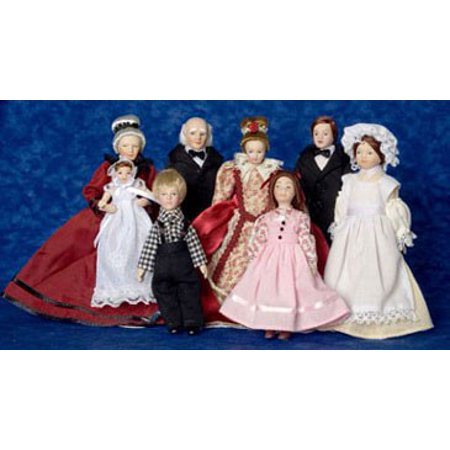 Dollhouse Victorian Extended Family 8