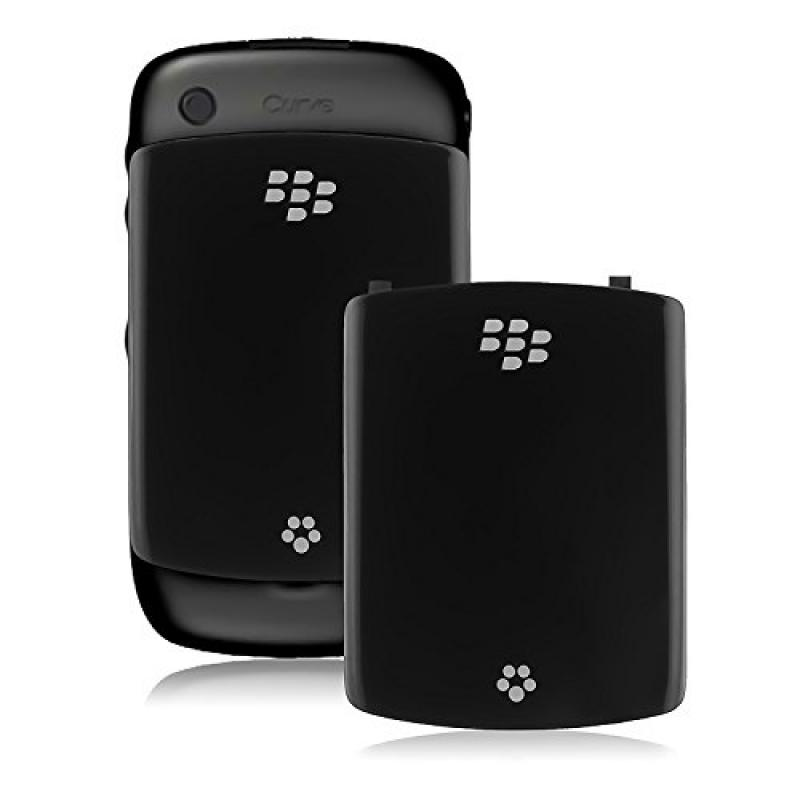 OEM Replacement Spare Battery Cover Door ASY-24251-001 for BlackBerry Curve 8520 / 8530 (Black)