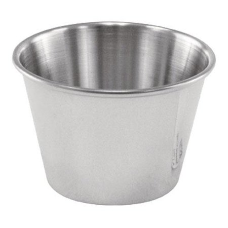 Winco - SCP-25 - 2 1/2 oz Stainless Steel Cocktail Dish/Sauce Cup ()
