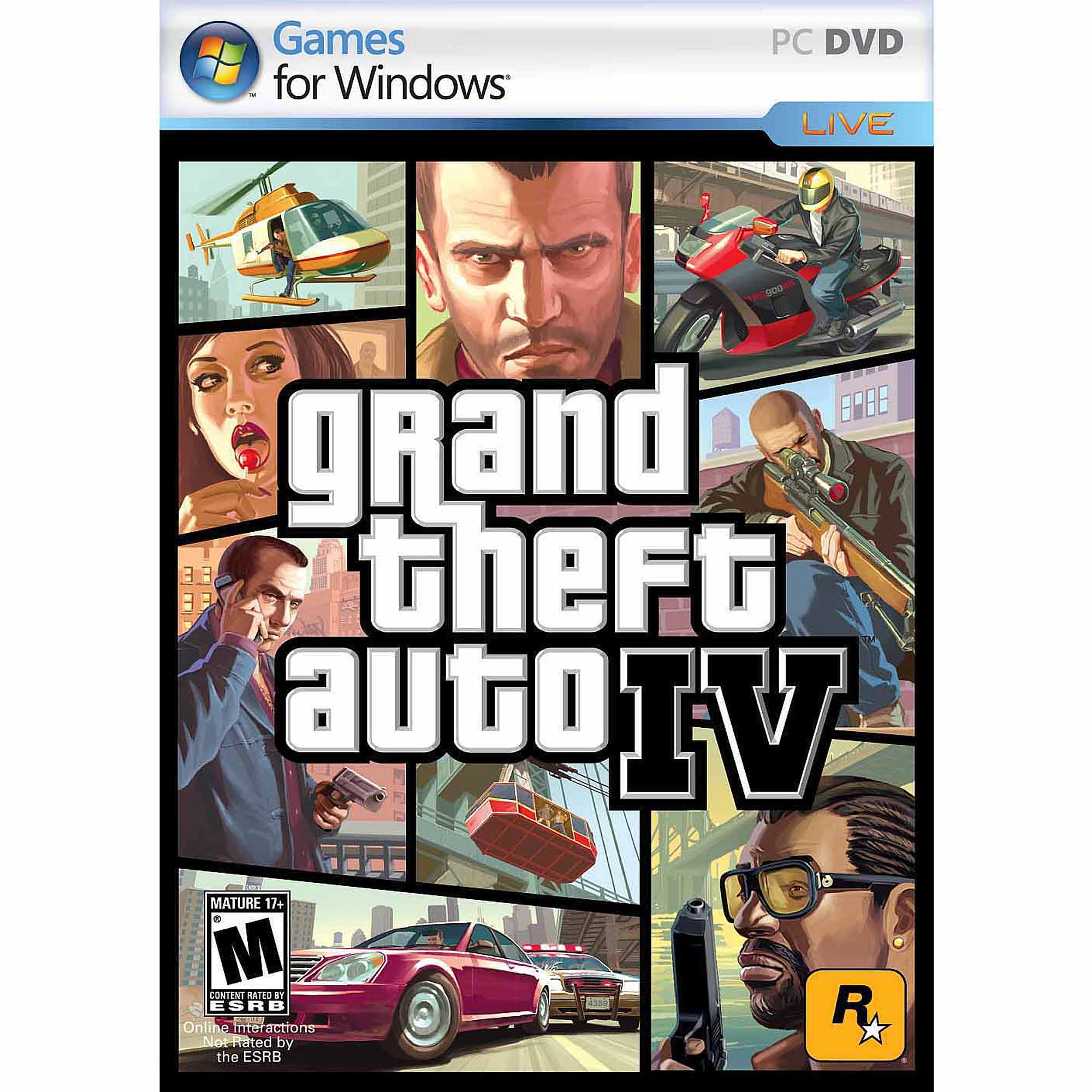 Grand Theft Auto IV (PC) (Digital Code)