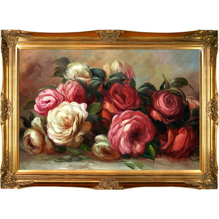 Tori Home Discarded Roses by Pierre-Auguste Renoir Framed Painting Print