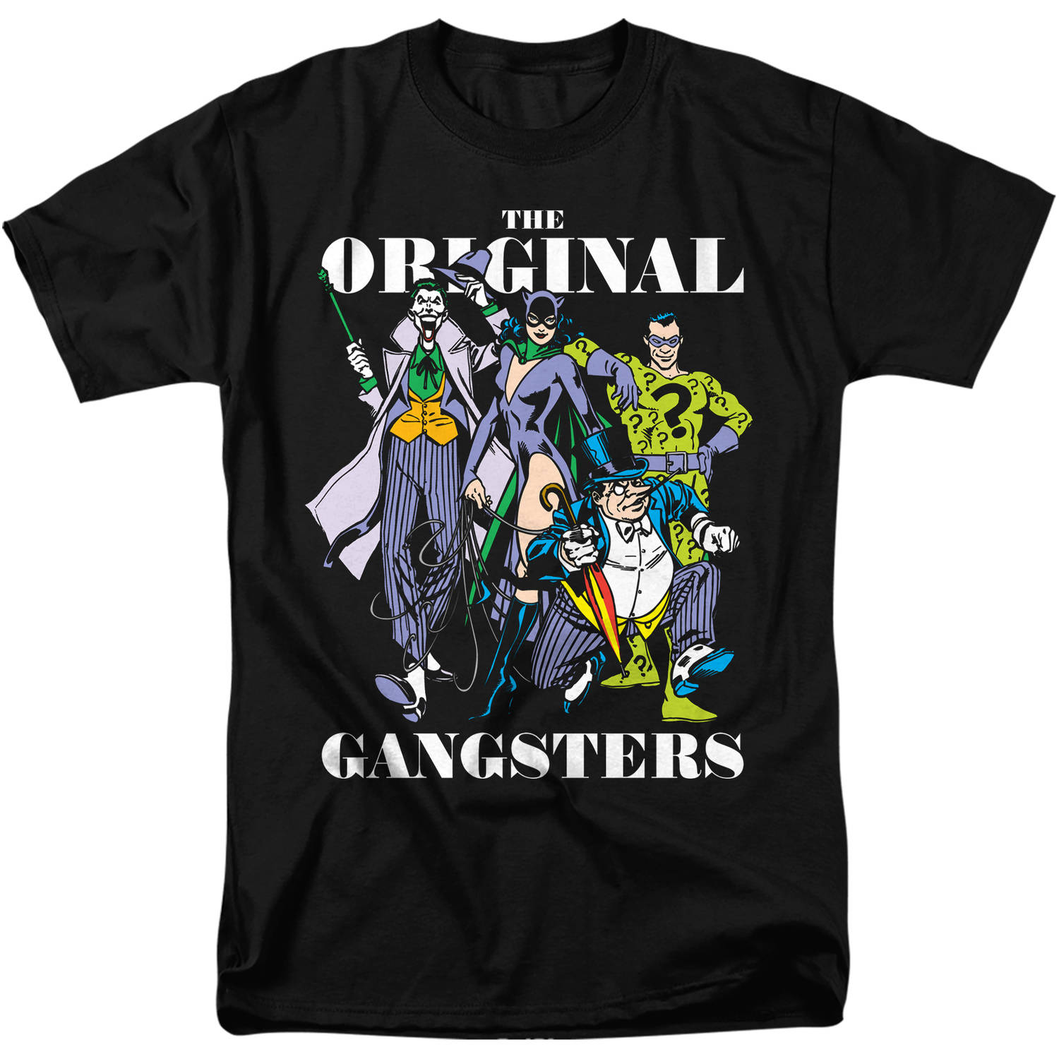 DC Comics Original Gangsters Graphic Tee