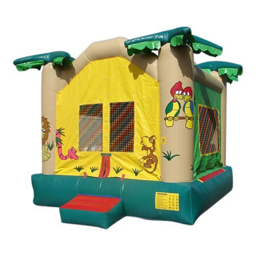 Kidwise Commercial Wild Jungle Bounce House