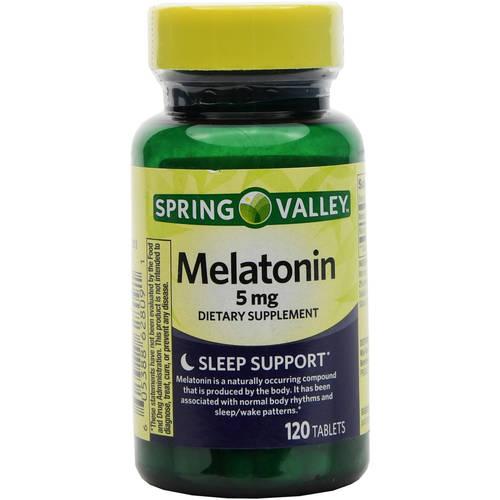 Spring Valley 5mg Melatonin - 120ct