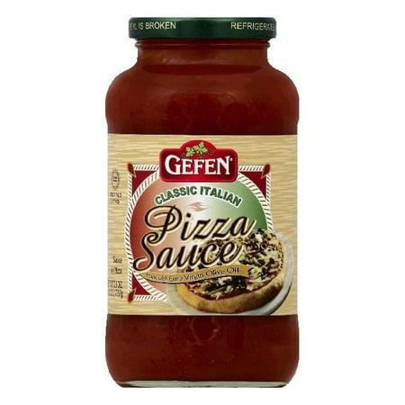 gefen classic italian pizza sauce 26 oz pack of 12 walmart com