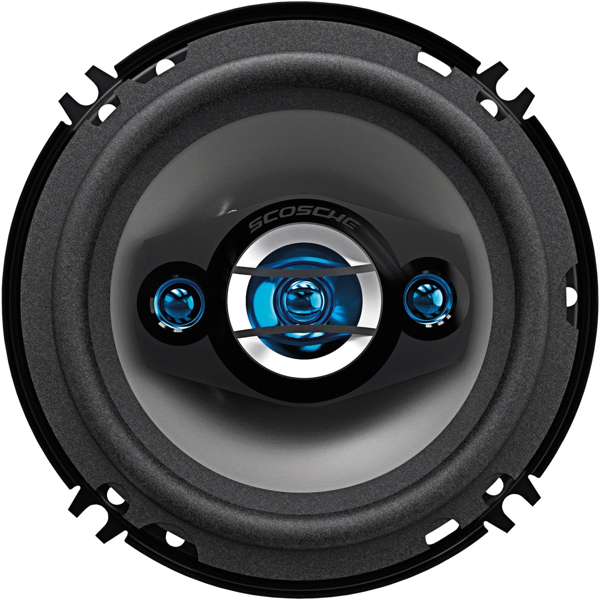 """Scosche 6.5"""" 4-Way Speaker Set"""