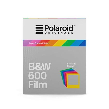Polaroid Originals B&W Film for 600 - Hard Color Frames (4673) ()
