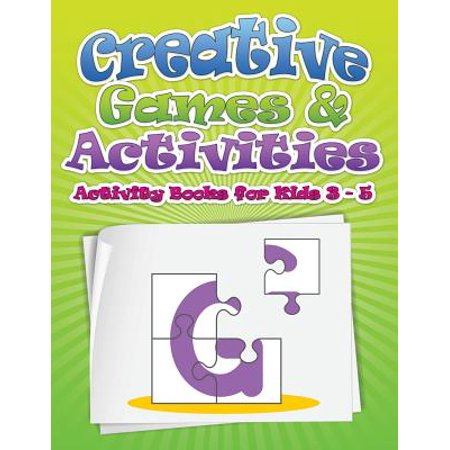Creative Games & Activities (Activity Books for Kids Ages 3 - - Halloween Activities For Grade 3 And 4