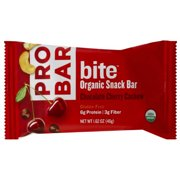 ProBar Bite Chocolate Cherry Cashew Organic Snack Bar, 1.62 oz, (Pack of 12)
