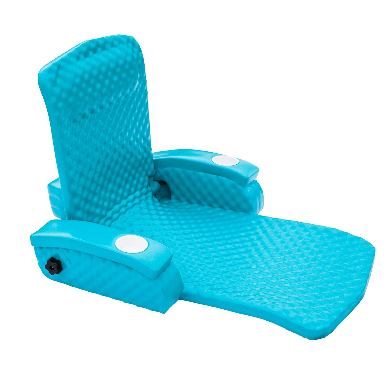 TRC Recreation Baja II Folding Lounge - Aquamarine