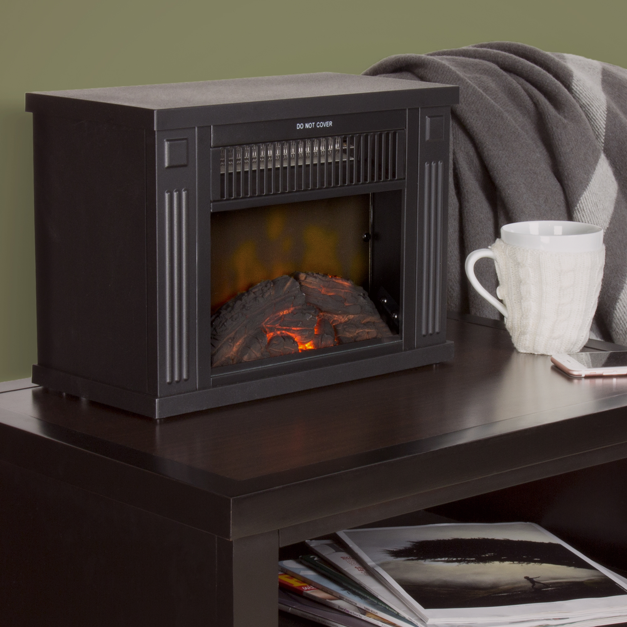 Northwest Mini Portable Electric Fireplace Heater Modern Design Of Small Wiring Diagram 13 Walmart Com Rh Duraflame Replacement Parts
