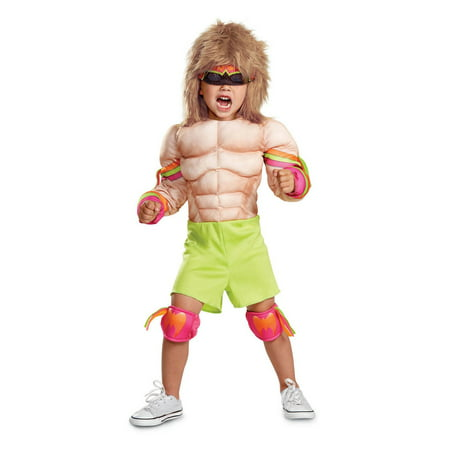 WWE Ultimate Warrior Infant Muscle Halloween Costume