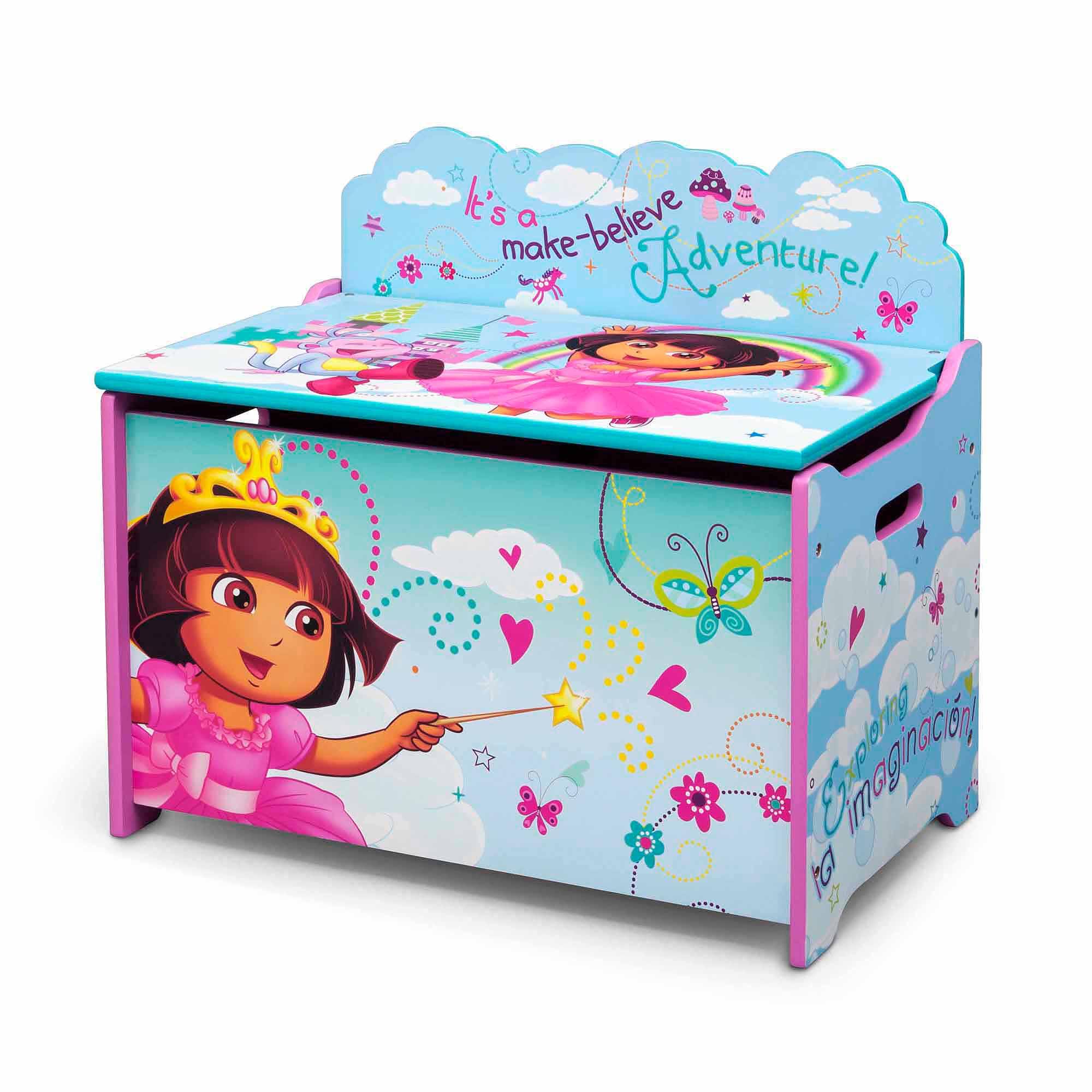 Girls Toy Box Organizer Storage Bin Drawer For Kids ...