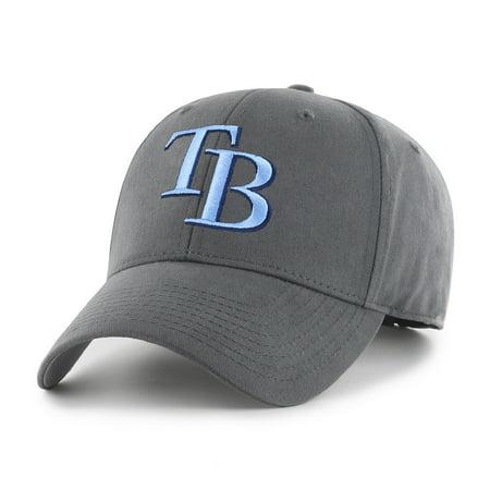 Fan Favorite MLB Basic Adjustable Hat, Tampa Bay Rays (Bday Hat)