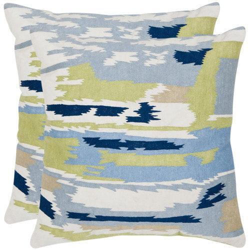 Safavieh Brewster Cotton Decorative Pillow (Set of 2)