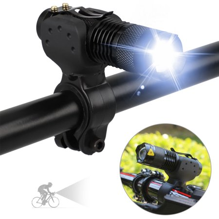 TSV 1200lm Cree Q5 Bike Light Set Powerful Lumens Bicycle Headlight with Bicycle Light Mount, LED Front Lights Easy to Install for Road Cycling Safety