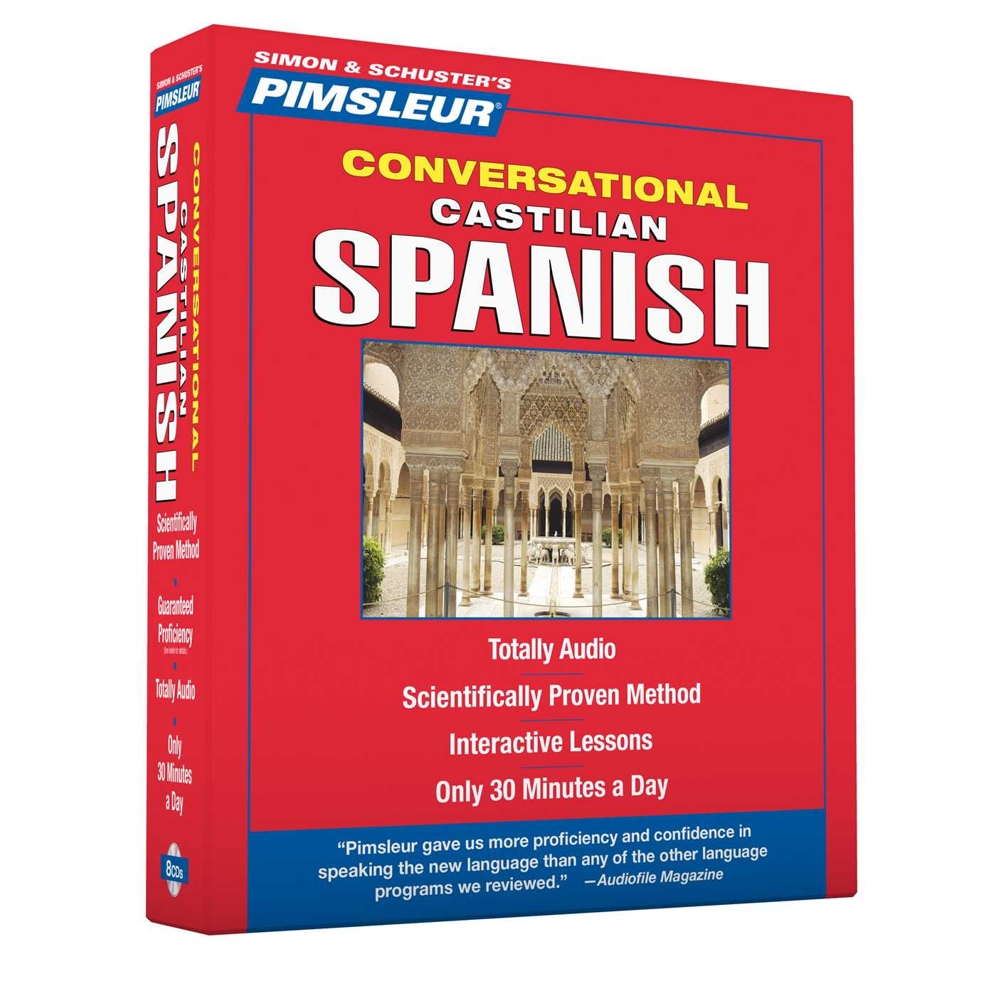 Pimsleur Spanish (Castilian) Conversational Course - Level 1 Lessons 1-16 CD : Learn to Speak and Understand Castilian Spanish with Pimsleur Language Programs