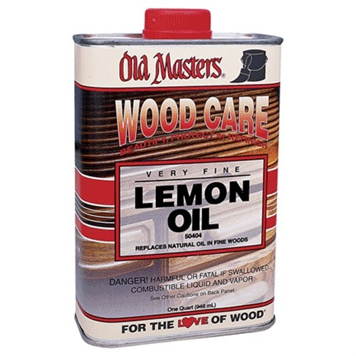 Old Masters / Master Products 50404 Qt Lemon Oil