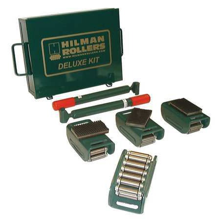 HILMAN ROLLERS KRS-3-4S Equipment Roller Kit,6000 lb.,Swivel
