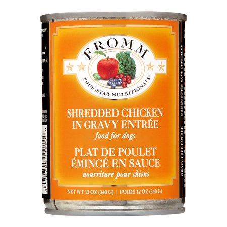 Shredded Chicken Canned Dog Food