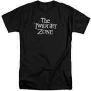 Twilight Zone Logo Mens Big and Tall Shirt