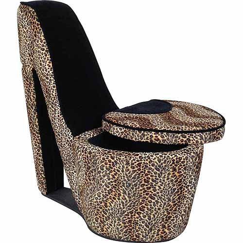 High Heels Storage Chair, Multiple Colors - Walmart.com