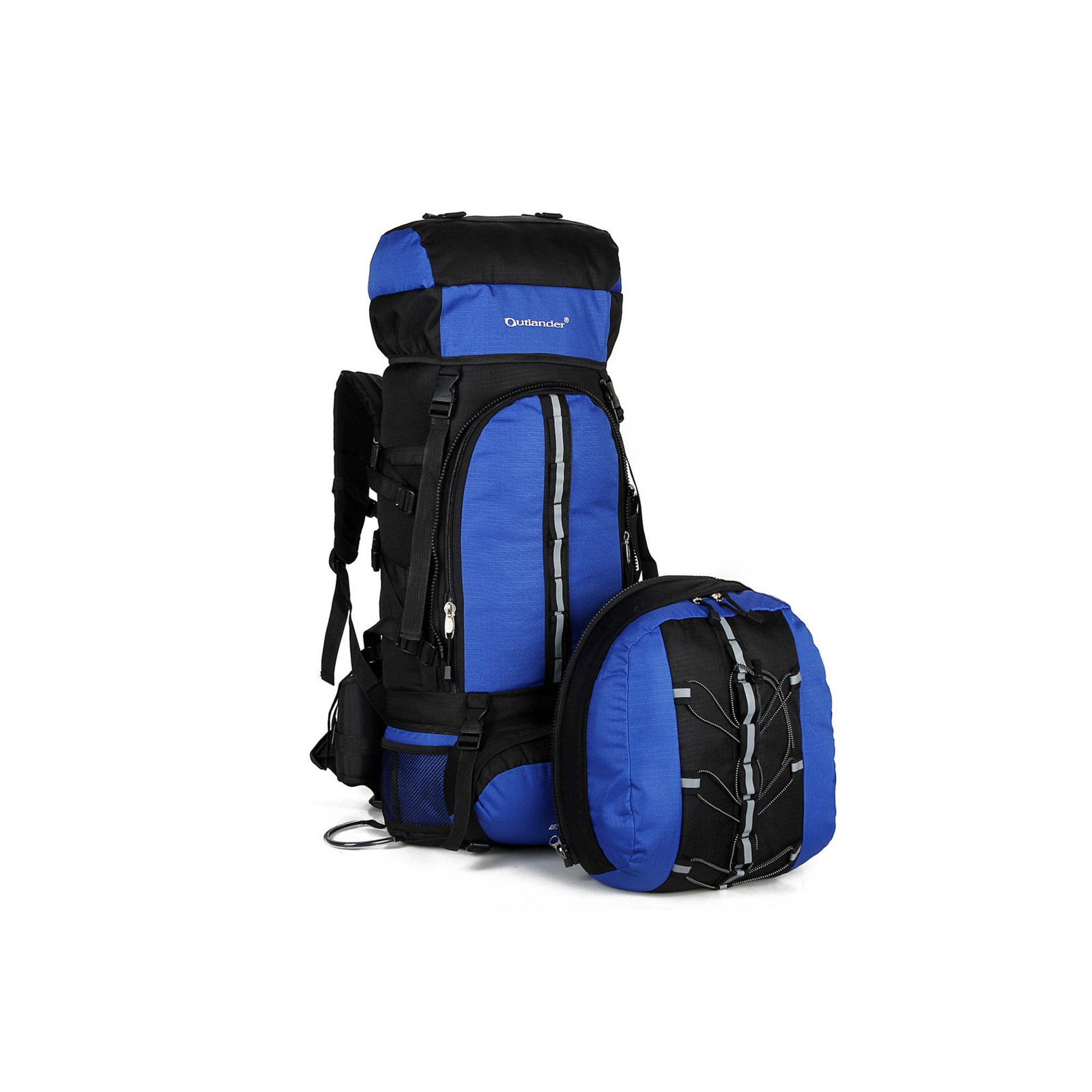 9940b9a347f1 Ktaxon Outlander-2453 Hiking Backpack, 70L+10L Capacity, 600D Dual ...