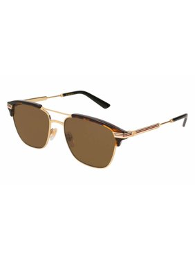 80836643c40 Product Image Gucci Brown Square Sunglasses GG0241S 003 54