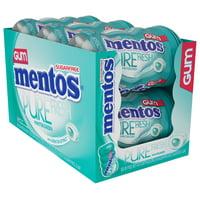 Mentos Pure Fresh Wintergreen Gum, 50 Piece, 6 Count
