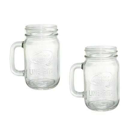 -a-rita Moscow Mule Mug Mason Jar Glass | Set of 2, Set of 2 By Bud Light