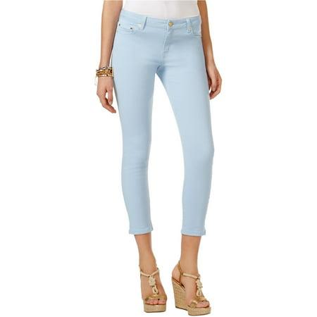 Michael Kors Womens Izzy Skinny Fit Jeans cloud 6P/24 - Petite - Michael Kors Petite Jeans