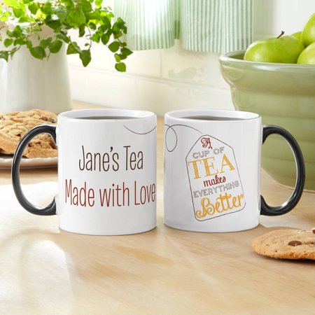 Personalized Tea Time 11 oz Coffee Mug - Personalized Tea Set