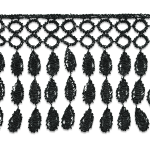 Expo 13 yards of Constance Victorian Lace Fringe Trim