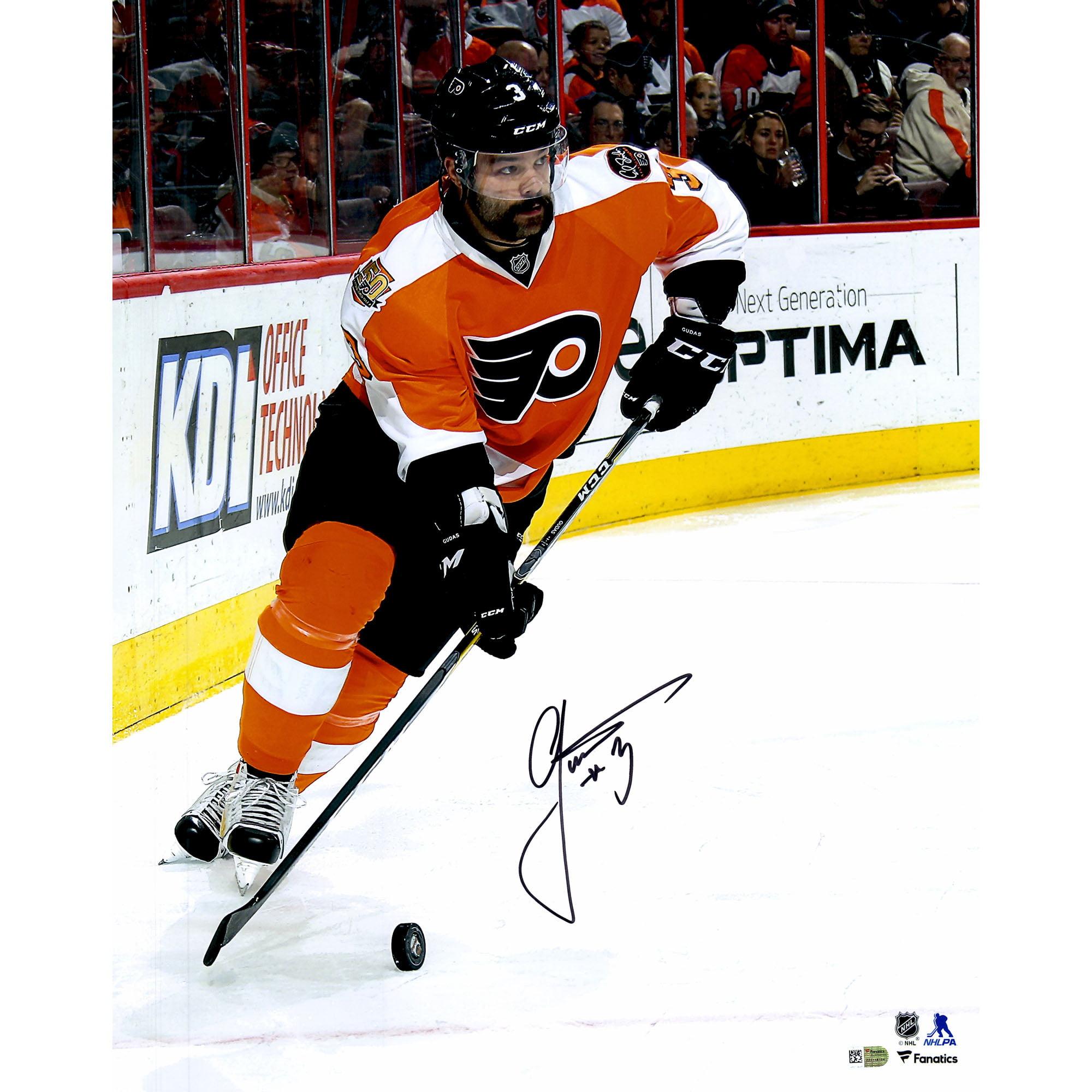 "Radko Gudas Philadelphia Flyers Fanatics Authentic Autographed 16"" x 20"" Orange Jersey Skating Photograph No... by Fanatics Authentic"
