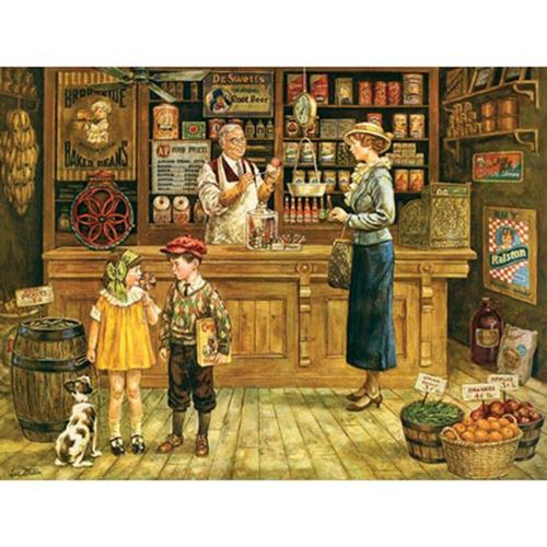 Cobble Hill The Grocery Store Jigsaw Puzzle