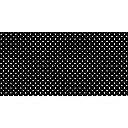 Fadeless Designs Bulletin Board Art Paper, 4-Feet by 50-Feet, Classic Dots Black and White (55845) By Pacon Ship from US