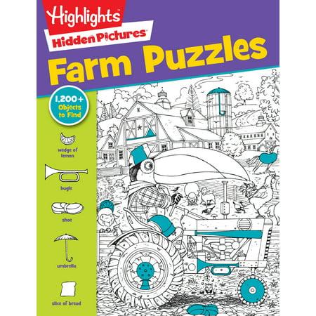 Farm Puzzles (Cheap Children Books)