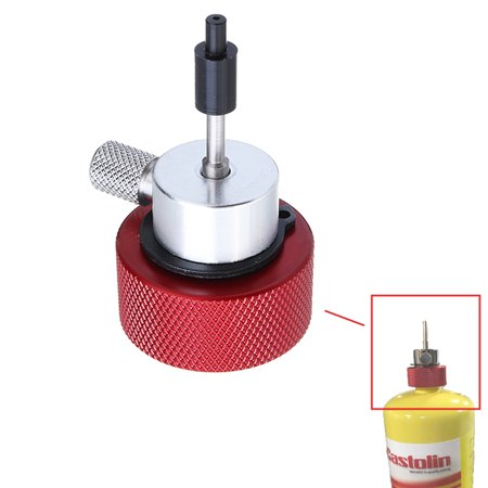 Airsoft Propane Filling Adapter for Green Gas Tank with Silicone O il