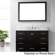 VIRTU USA  Caroline Avenue 48-inch Single Sink Bathroom Vanity Set