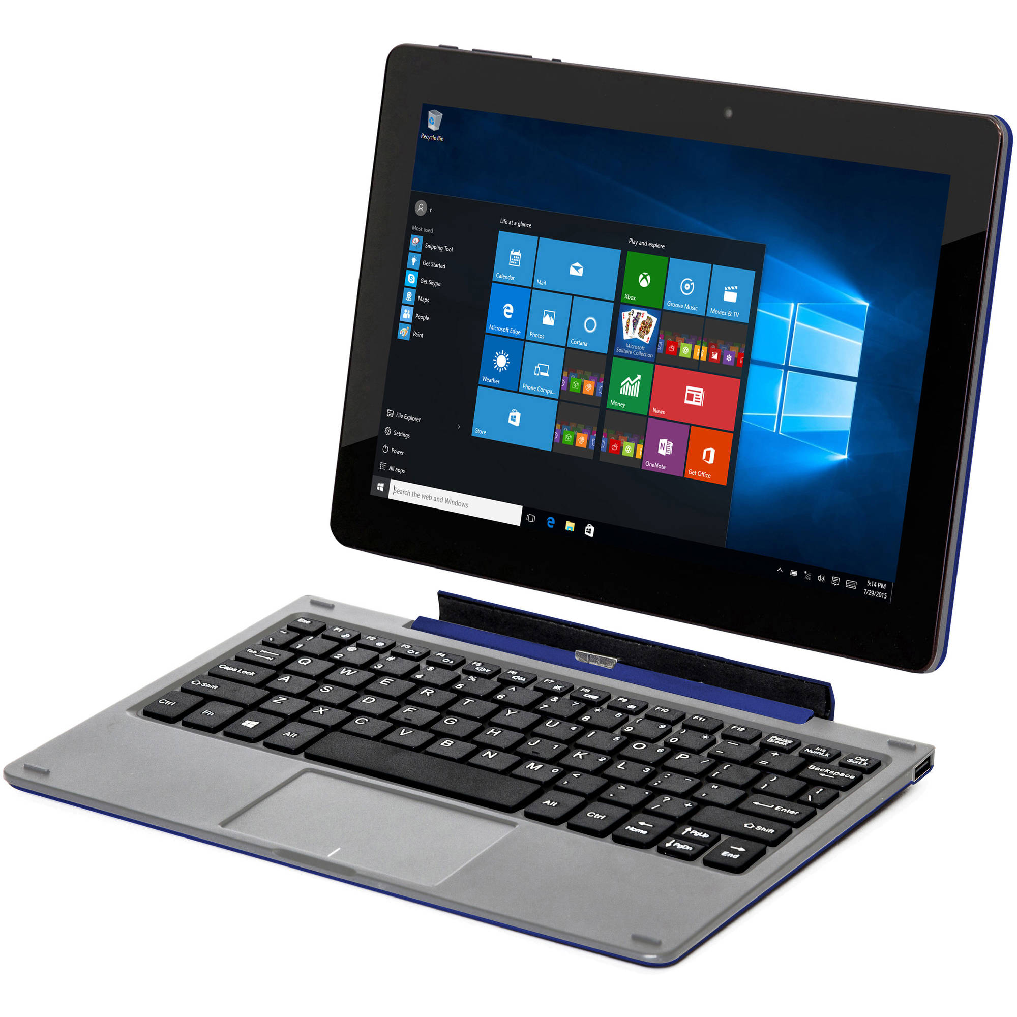 "Nextbook Flexx 10.1"" 2-in-1 Tablet 32GB Intel Atom Z3735F ..."